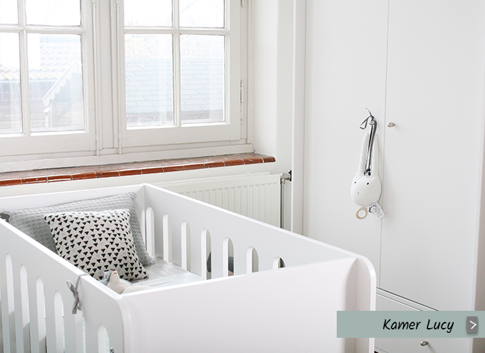 Babykamer Lucy (wit, 3-delig)