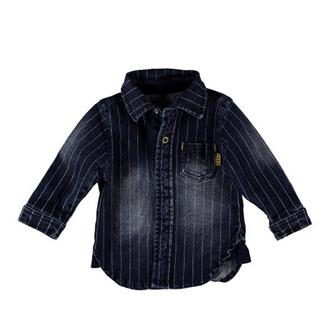 Blouse denim streep B-e-s-s