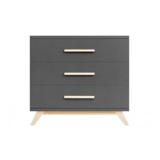 Bopita Commode Kyan - Deep Grey / Naturel