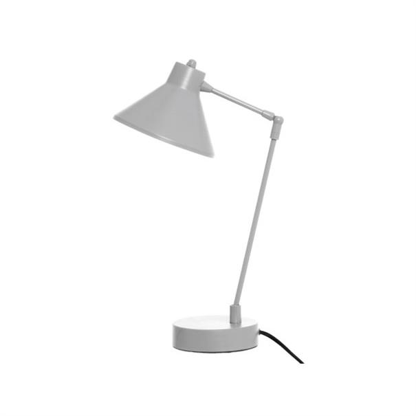 Bureau Lamp Funnel Metal - Grijs