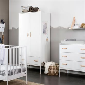 Coming Kids Babykamer Bliss White 3-delig