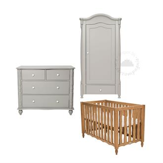 Coming Kids Babykamer Pebbles Grey 3-delig