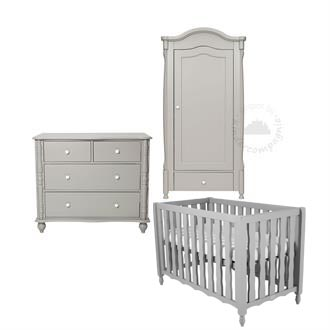 Coming Kids Babykamer Pebbles Grey (ook ledikant) 3-delig