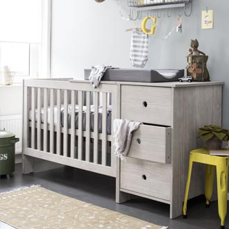 Coming Kids babykamer Timber compact 3-delig