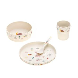 Diner Set 'Garden Explorer Girls'