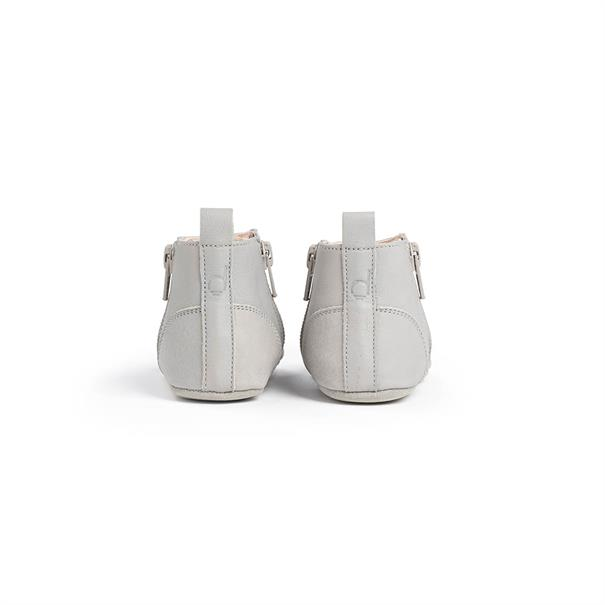 First Steps Shoe | Leather | 17 - 18 | Cloud Grey