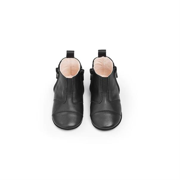 First Steps Shoe | Leather | 17 - 18 | Night Black