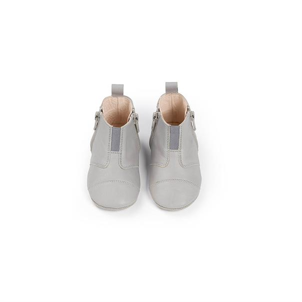 First Steps Shoe | Leather | 19 - 20 | Cloud Grey