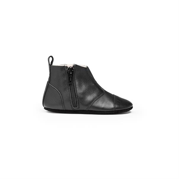 First Steps Shoe | Leather | 19 - 20 | Night Black