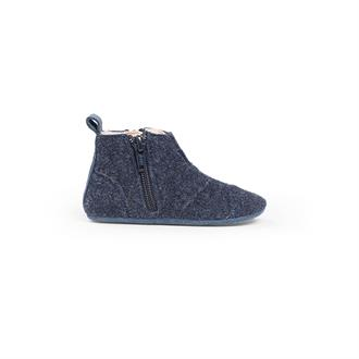 First Steps Shoe | Wool | 17 - 18 | Ocean Blue
