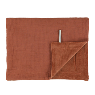Fleece blanket bliss rust Trixie