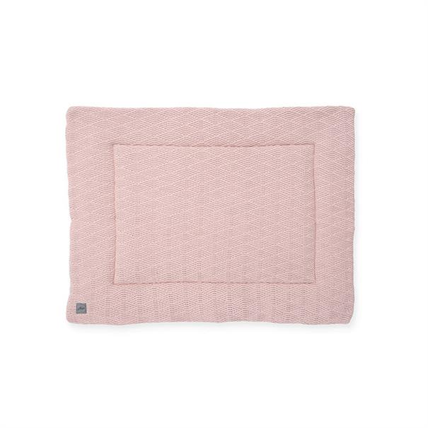 Jollein Boxkleed 'River Knit' - Pale Pink