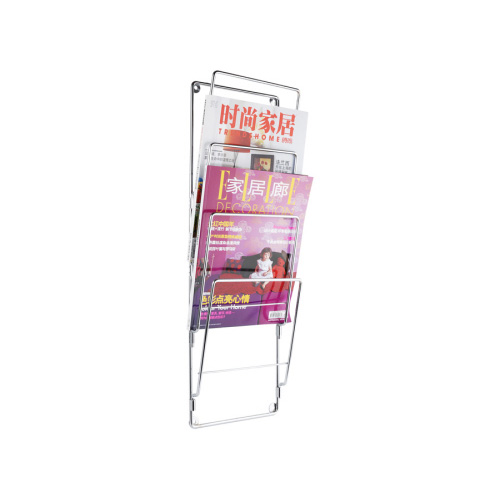 Magazine Rek Wire 'Chrome' - 60 x 19 CM