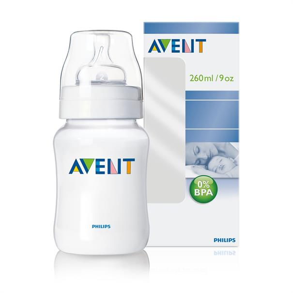 Philips AVENT zuigfles sil. 260ml