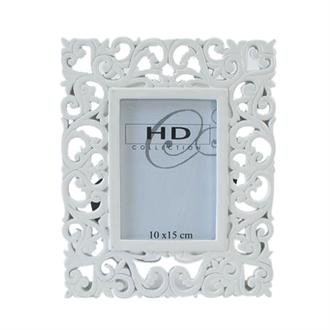 Photo Frame Poly White 10 x 15 CM