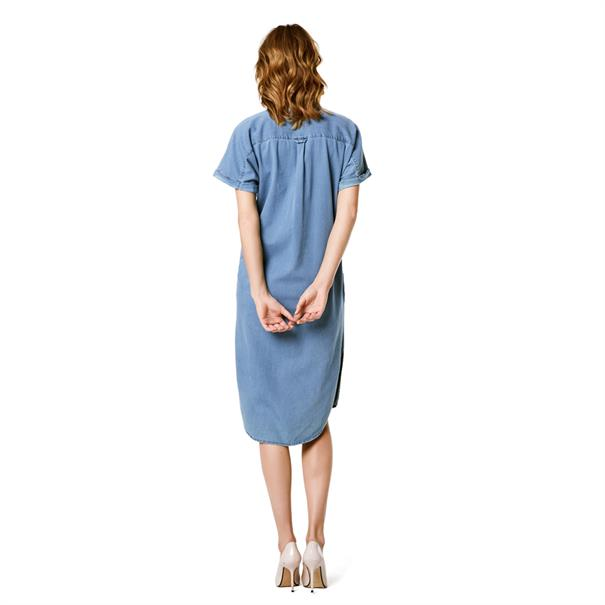 Positiekleding supermom denim dress