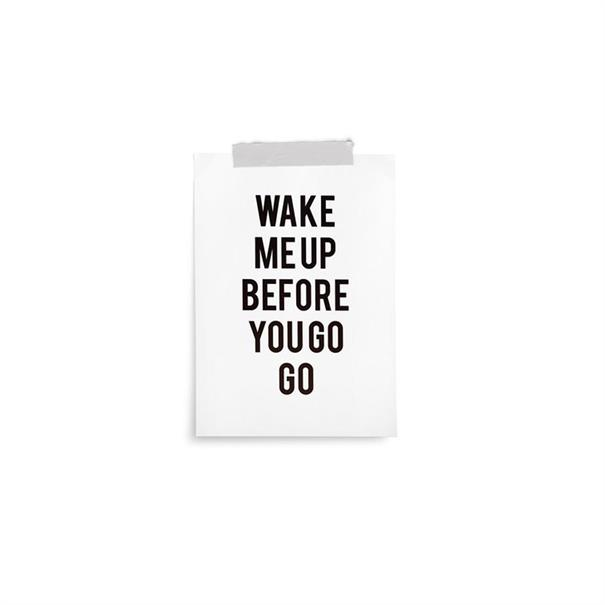 Poster 'Before You Go' - 10 x 15 CM