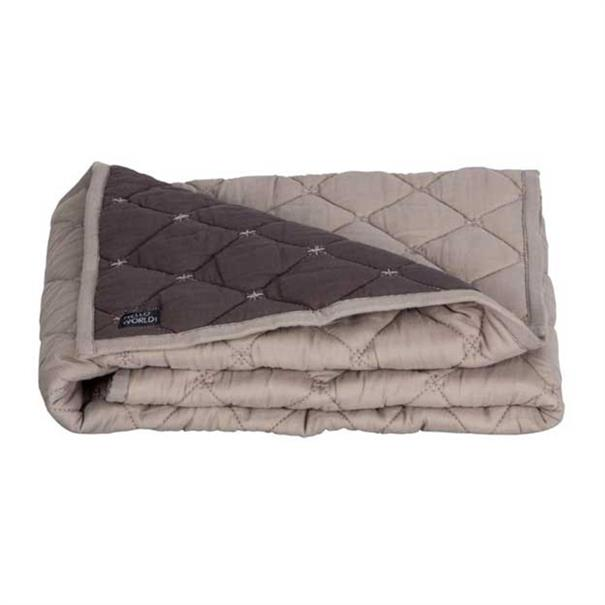 Quilted blanket cot. 110 x 150