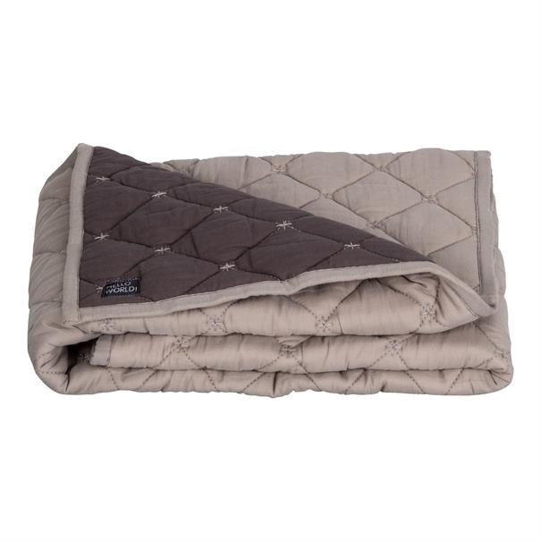 Quilted Blanket Crib, 80 x 100 cm