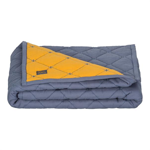 Quilted blanket crib. 80 x 100