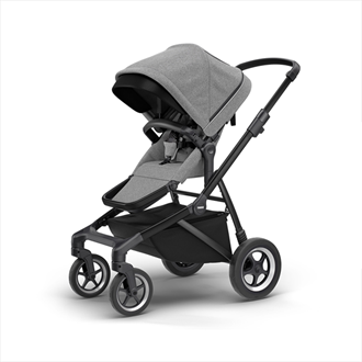 Sleek kinderwagen grey melange Thule