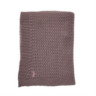 soft Knitted ledikantdeken Mies en Co rosewood