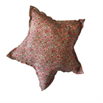 Star cushion print 100% cotton