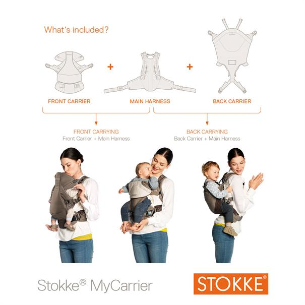 Stokke Stokke mycarrier brown
