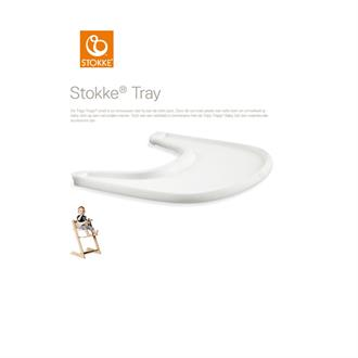 Stokke Tray (tafelblad) - White (voor Tripp Trapp)