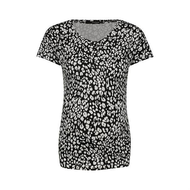 Supermom (noppies) Tee ss leopard