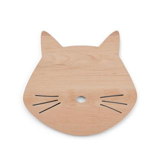 Troy wooden lamp cat naturel