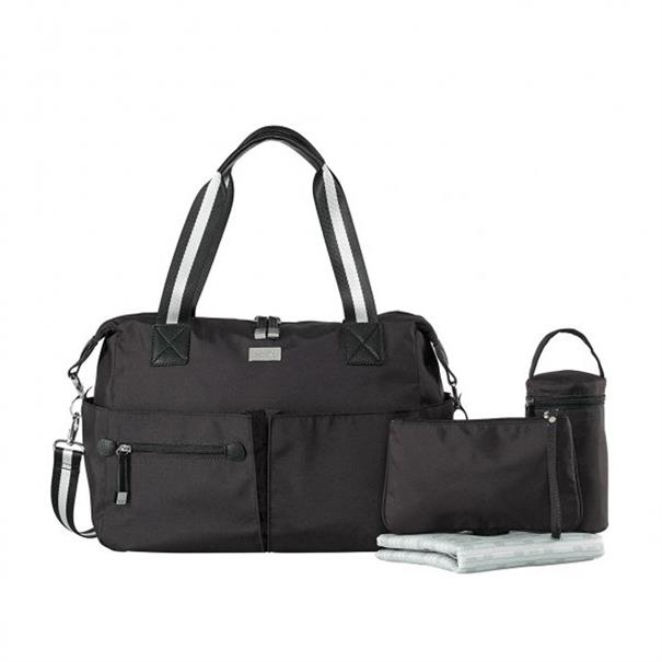Verzorgingstas Isoki 'Pocket Bag' - Lennox Black